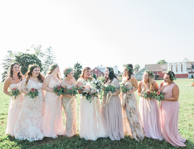 Peach Farm Wedding - Inspired by This