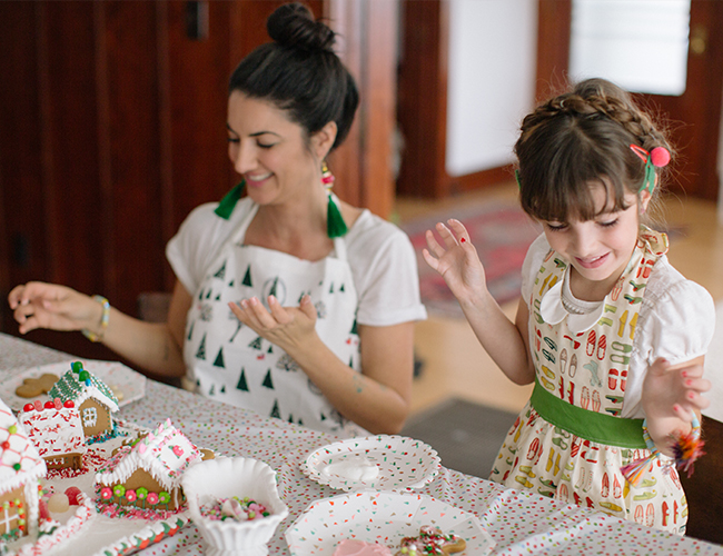 Mother Daughter Holiday Cookie Decorating Party - Inspired by This