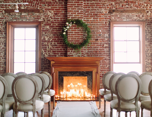 Moody Lavender Wedding at a Modern Loft - Inspired by This