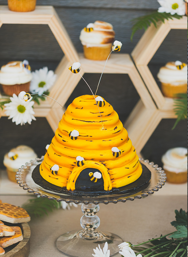 Honey Bee First Birthday Party Inspired By This