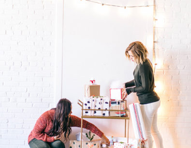 A DIY Holiday Wrapping Party - Inspired by This