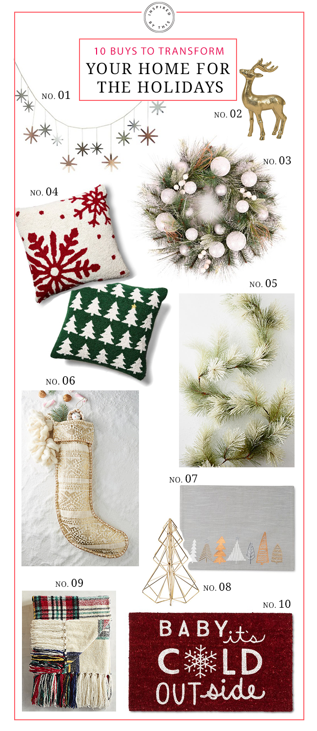 10 Buys to Transform your Home for the Holidays - Inspired by This