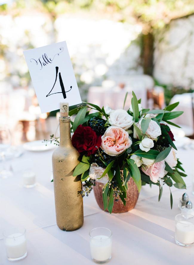 Burgundy Villa Wedding In San Juan Capistrano Inspired