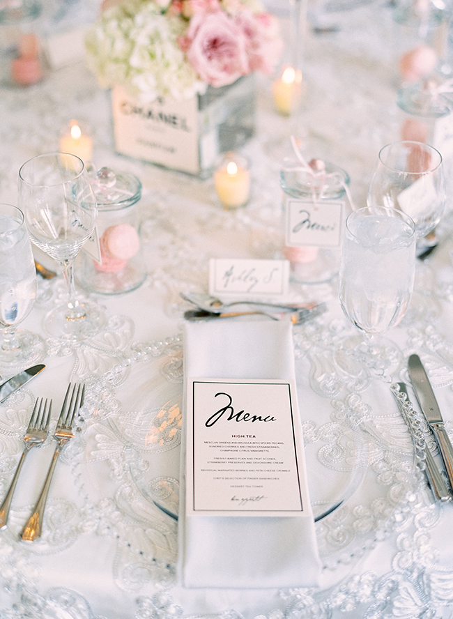 42e30f2d3afd Parisian Coco Chanel Themed Bridal Shower - Inspired By This