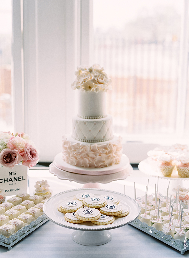 parisian coco chanel themed bridal shower inspired by this