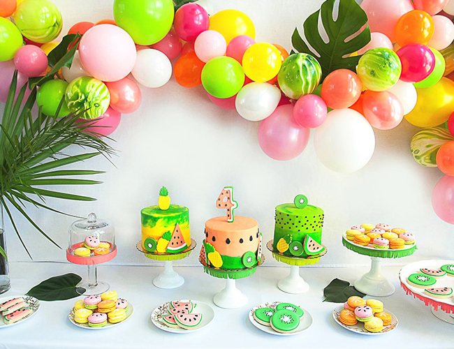 Tropical Tutti Frutti Birthday Party Inspired By This