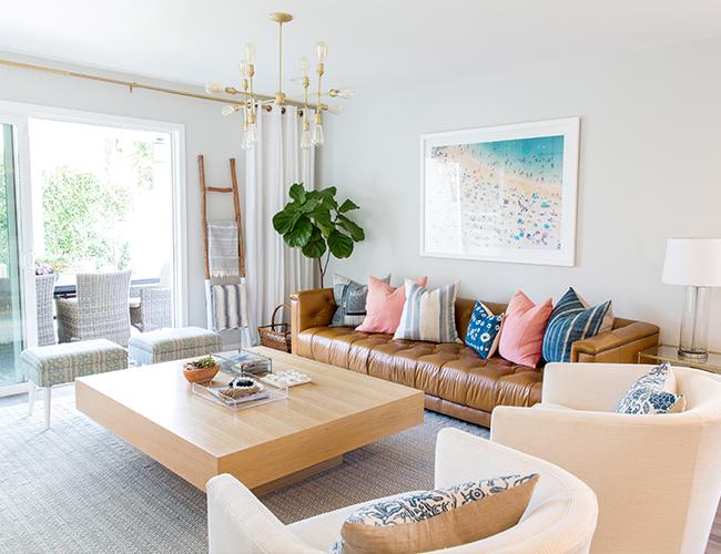 Bright Bohemian Beach Home With Rita Chan Interiors