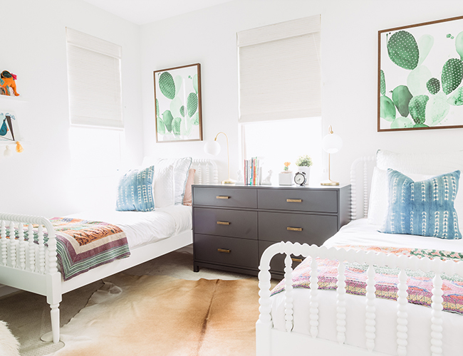 Awesome Leigh U0026 Aly From Pure Salt Interiors Share, For The Girls Bedroom, We  Really Wanted To Create Something Colorful, Fresh And Fun With Some  Elements Full Of ...