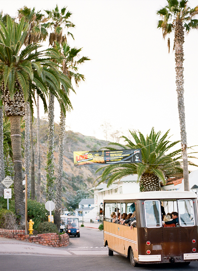 Tropical Catalina Island Wedding - Inspired By This
