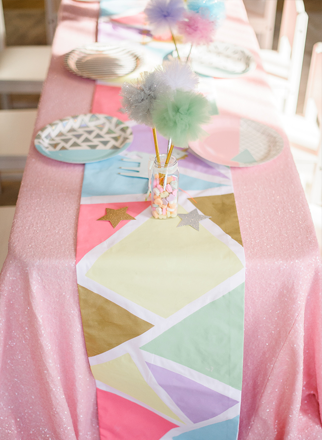 Geometric Unicorn Birthday Party Inspired By This