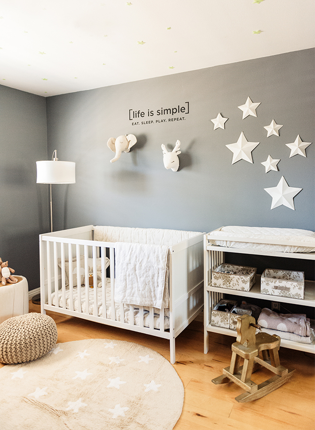 Our Editor S Cream Amp Grey Animal Nursery Inspired By This