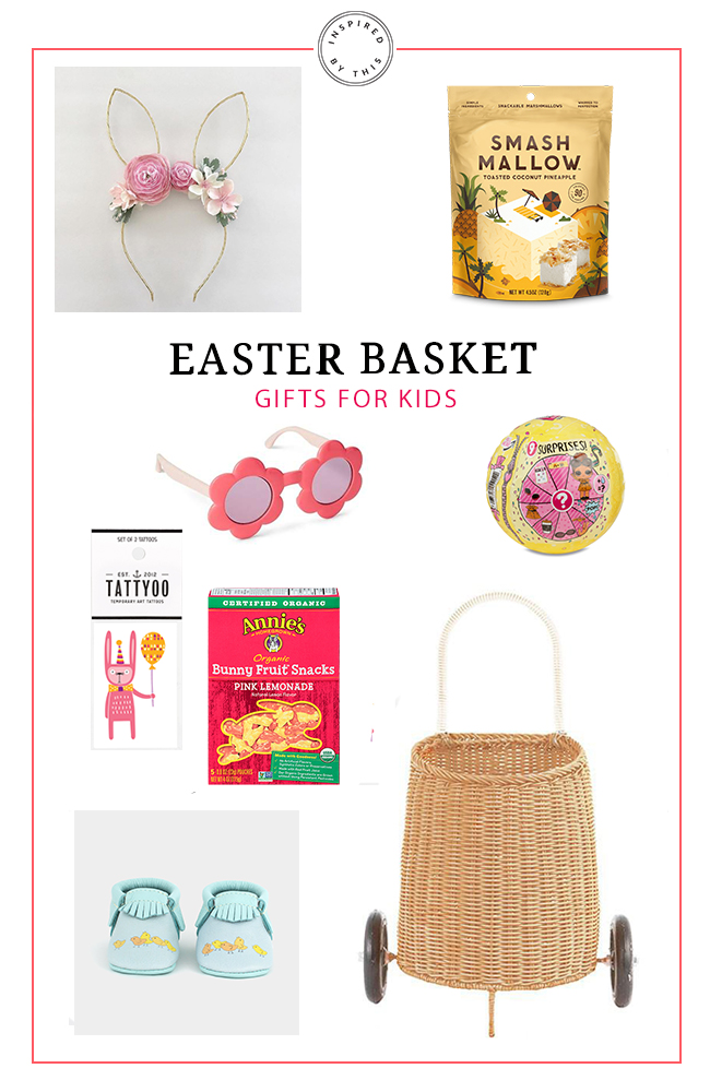 The cutest easter basket gifts for kids inspired by this easter bunny ears your little girl will love getting to don these pretty ears on easter sunday or all weekend long negle Images