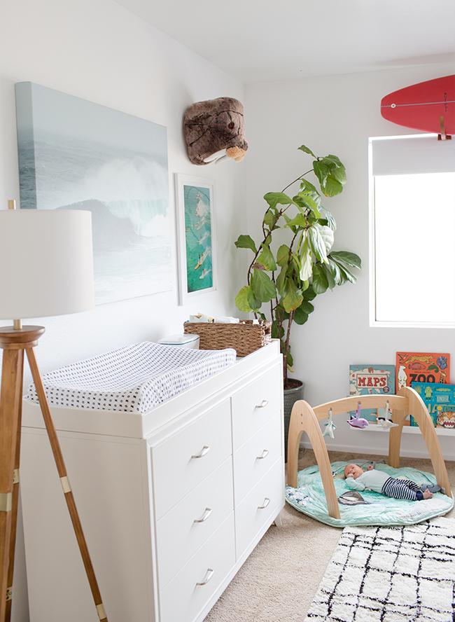 Ocean Surf Inspired Nursery Inspired By This
