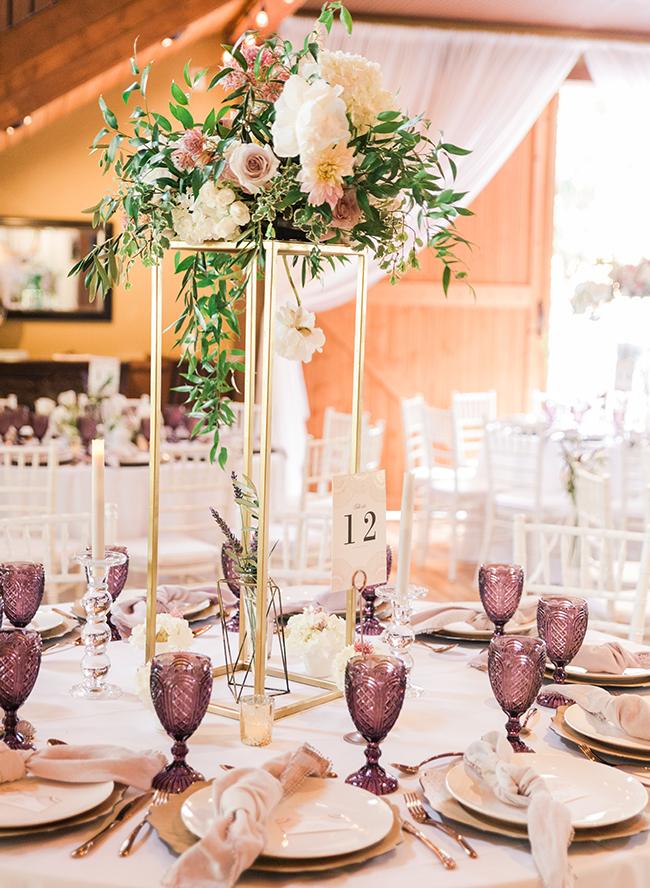 Savannah And Cole Labrant S Stunning Blush Wedding