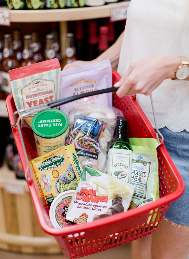 A Trader Joe's Grocery List from A Nutritionist - Inspired