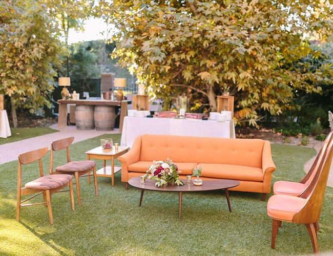 Fall Wedding Pumpkin Decor