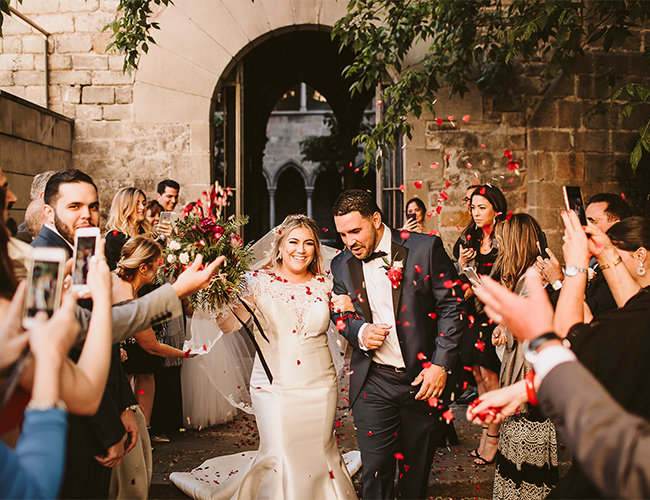 Botanical Barcelona Wedding