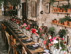Botanical Barcelona Wedding