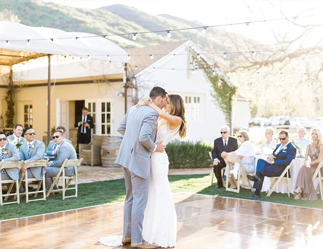 Natural Al Fresco Wedding