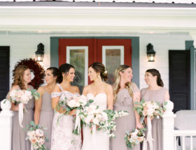 Pastel Barn Wedding