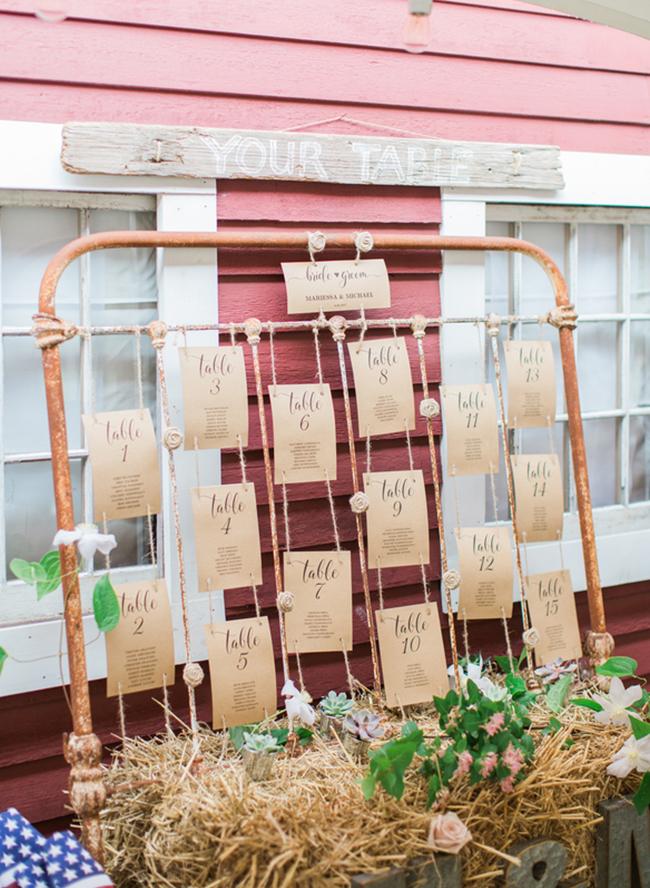 Pastel Barn Wedding