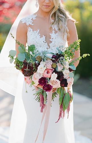 Cool Floral Wedding