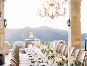 Dreamy All White Wedding