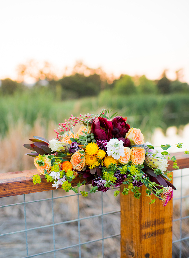 Colorful Fall Wedding Inspired by Oktoberfest
