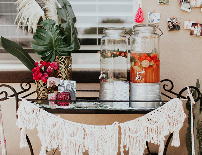 Bright Moroccan Bridal Shower