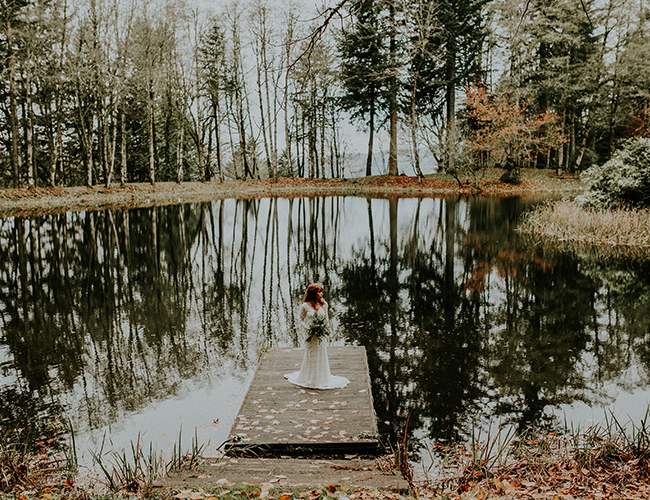 Moody Forest Wedding Inspiration