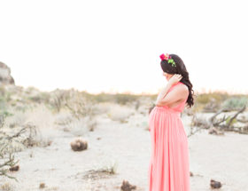 Desert Sunset Maternity