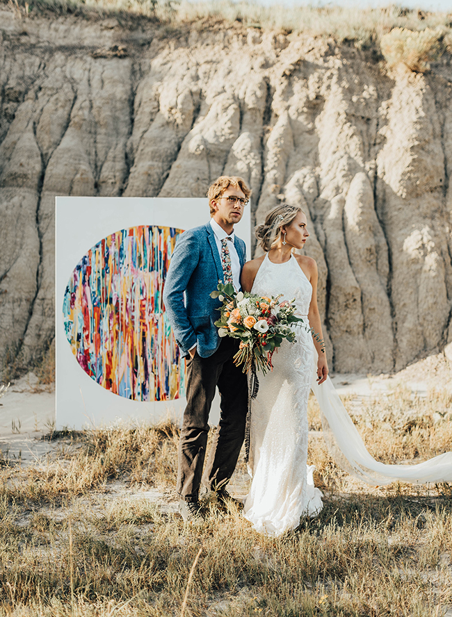 Bold bohemian wedding inspiration in the desert inspired by this bold bohemian wedding inspiration junglespirit