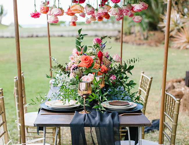 Floral Hawaiian Wedding Inspiration