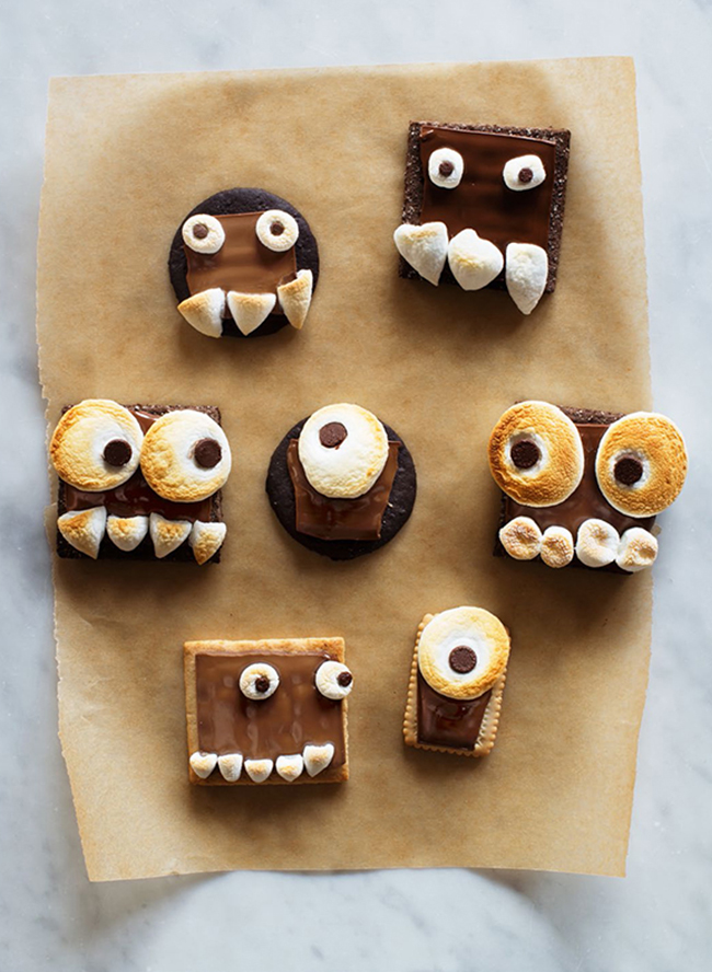 Creative Halloween Party Bites