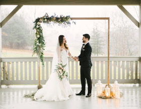 Pastel and Copper Wedding Inspiration