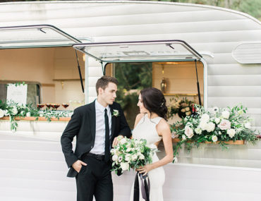 Chic Black and White Wedding