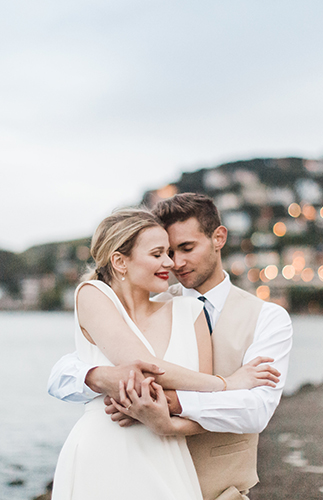 French Riviera Inspired Engagement