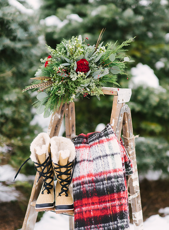 Christmas Tree Farm Wedding Inspiration Inspired By This