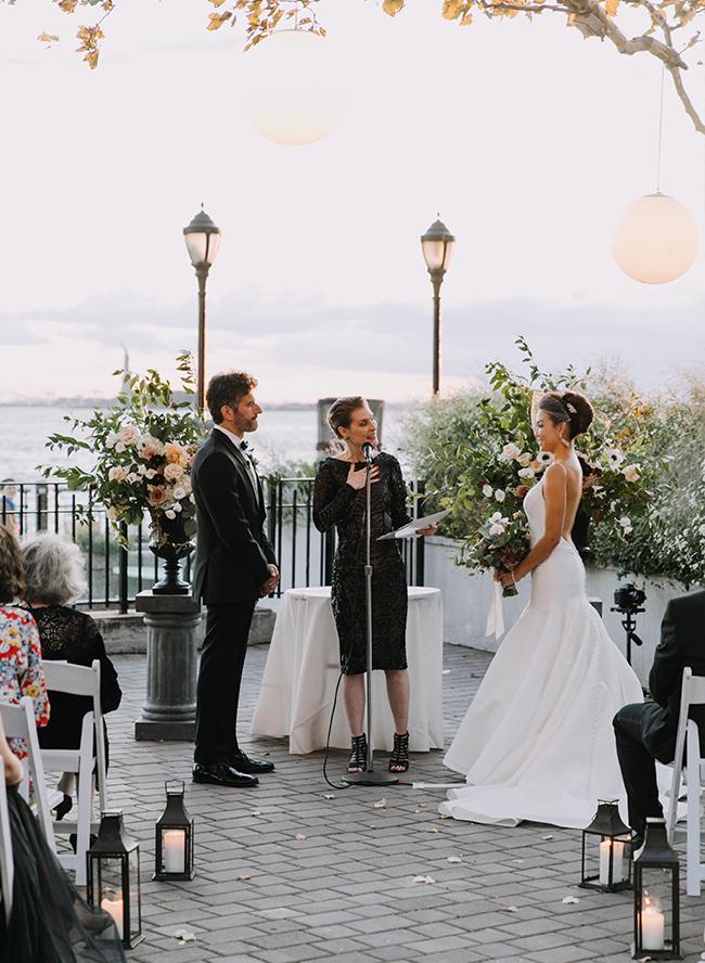 Waterfront Nyc Wedding For The Bachelor S Sharleen Joynt