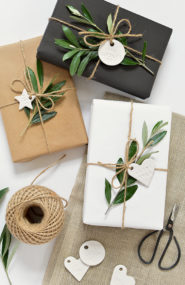 Holiday Gift Wrap Ideas, how to wrap gifts creatively