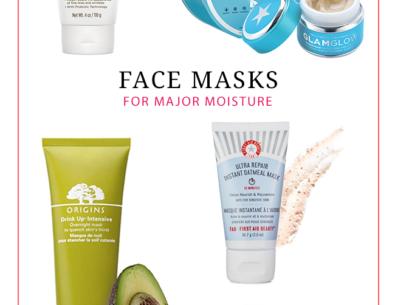 Face Masks for Major Moisture