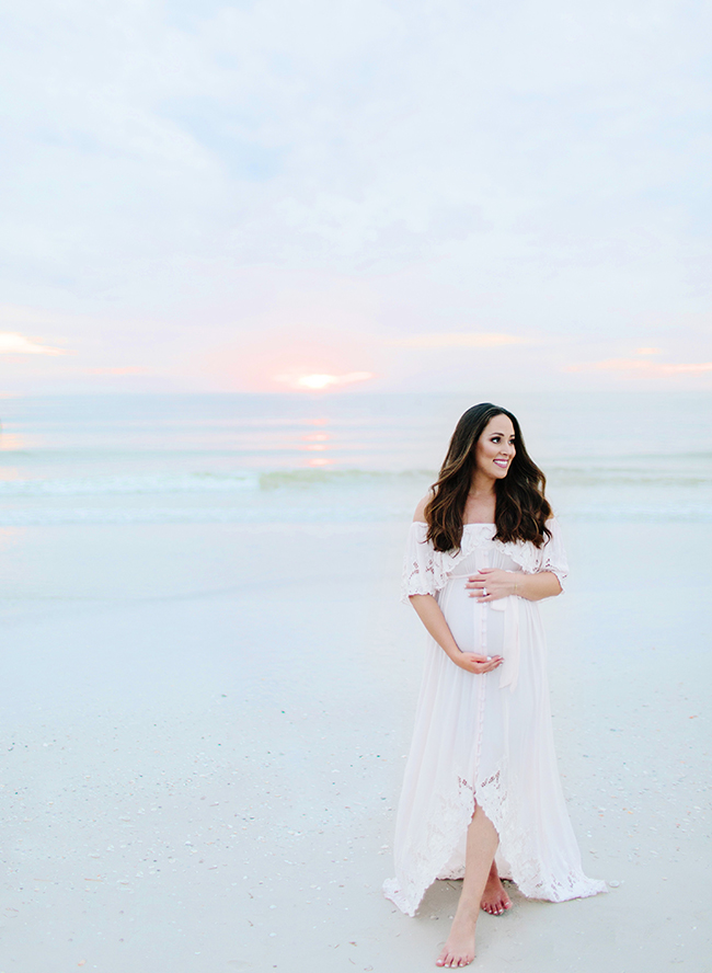 Fort DeSoto Maternity Photos