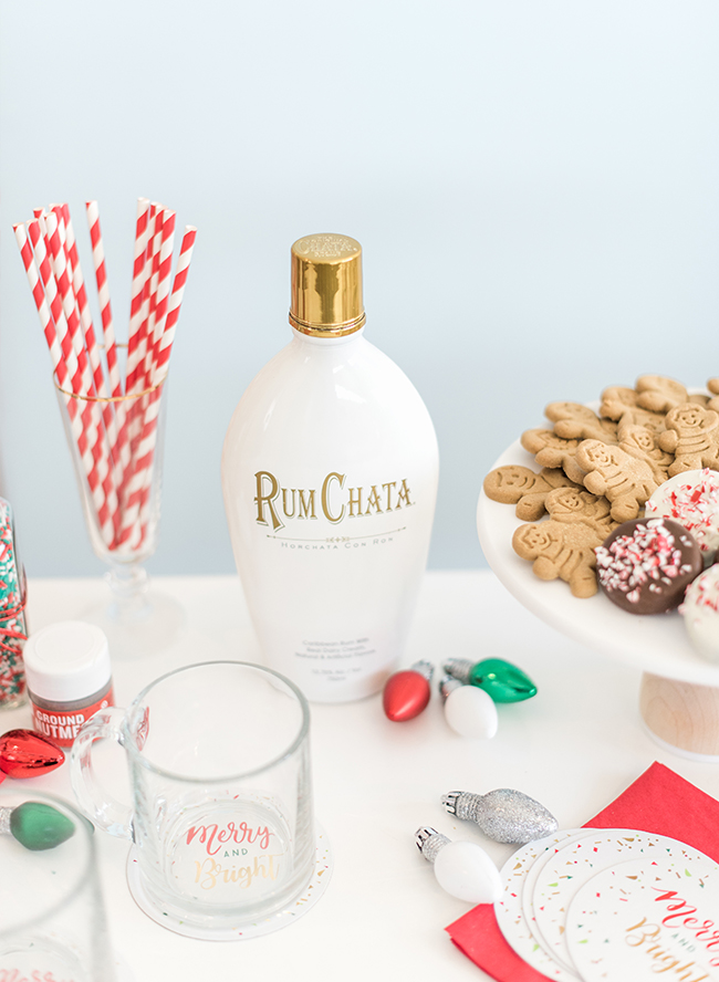 Boozy Milk & Cookies for Santa - Inspired by This
