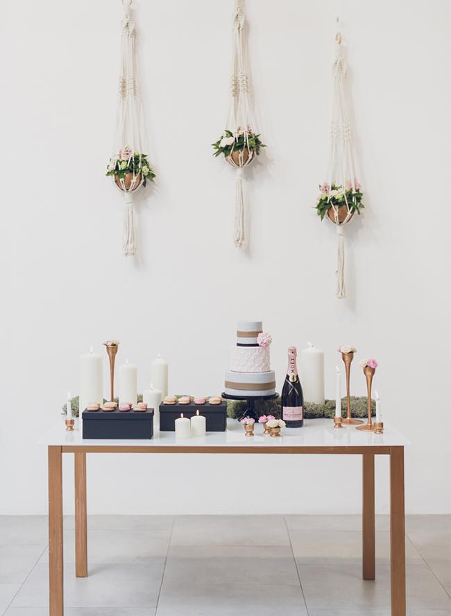 Macrame Wedding Details
