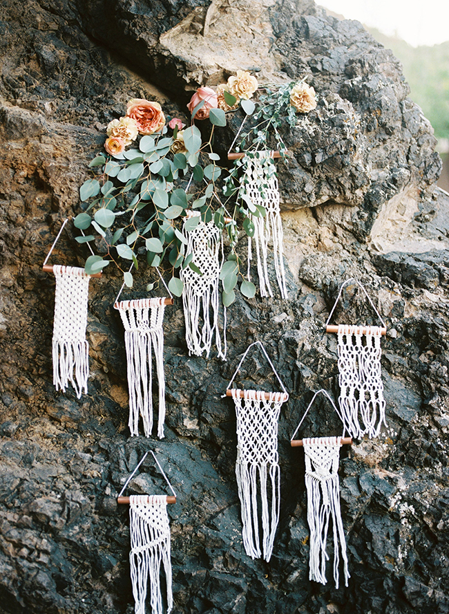 Macrame Wedding Details