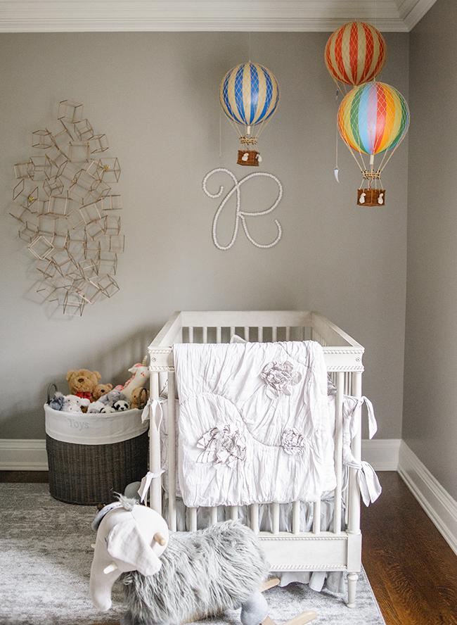 Elegant Baby Boy Nursery: Inspired By This Elegant Grey Nursery For Twins