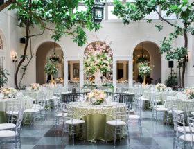 Pink and Green Garden Wedding