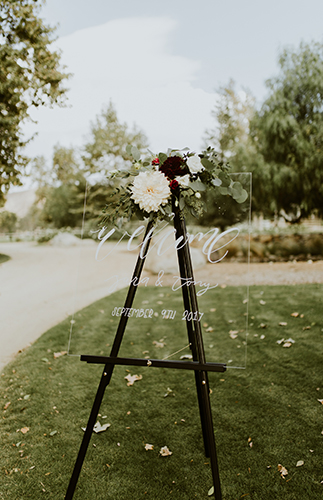 Moody Geometric Wedding