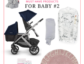 Must Have Products for Baby Number 2