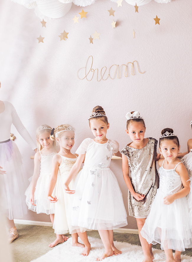 Swan Lake Ballerina Birthday Party